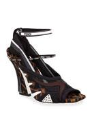 Fendi Freedom FF Patchwork Sandals