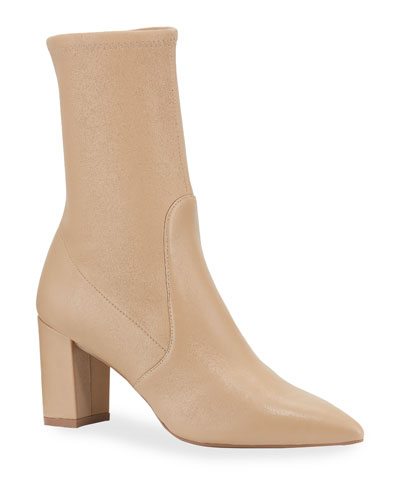 Landry 75 Stretch Leather Booties