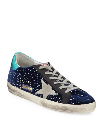 Superstar Velvet Sparkle Sneakers