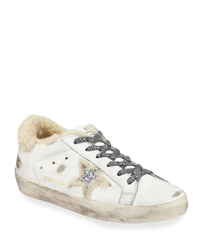 Superstar Floral Shearling Sneakers