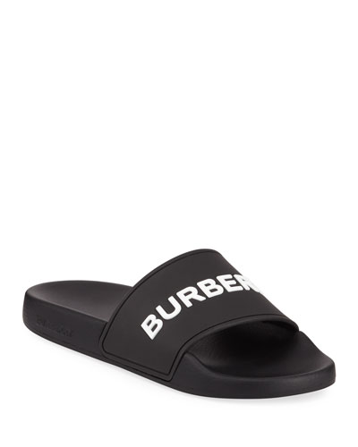 978b2f707 Quick Look. Burberry · Furley Logo Pool Slide Sandals
