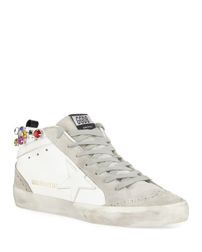 Midstar Crystal High-Top Sneakers