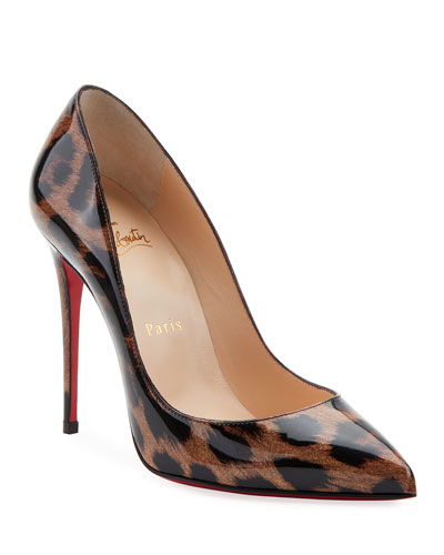 pretty nice 16d22 7033d Pointed Toe Red Sole Pump | Neiman Marcus