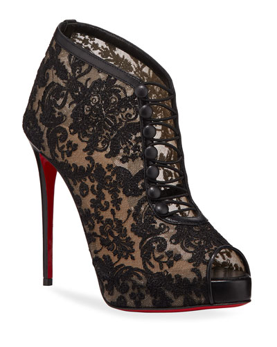 Top Top Red Sole Booties