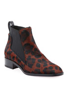 Christian Louboutin Marmada Leopard Red Sole Booties