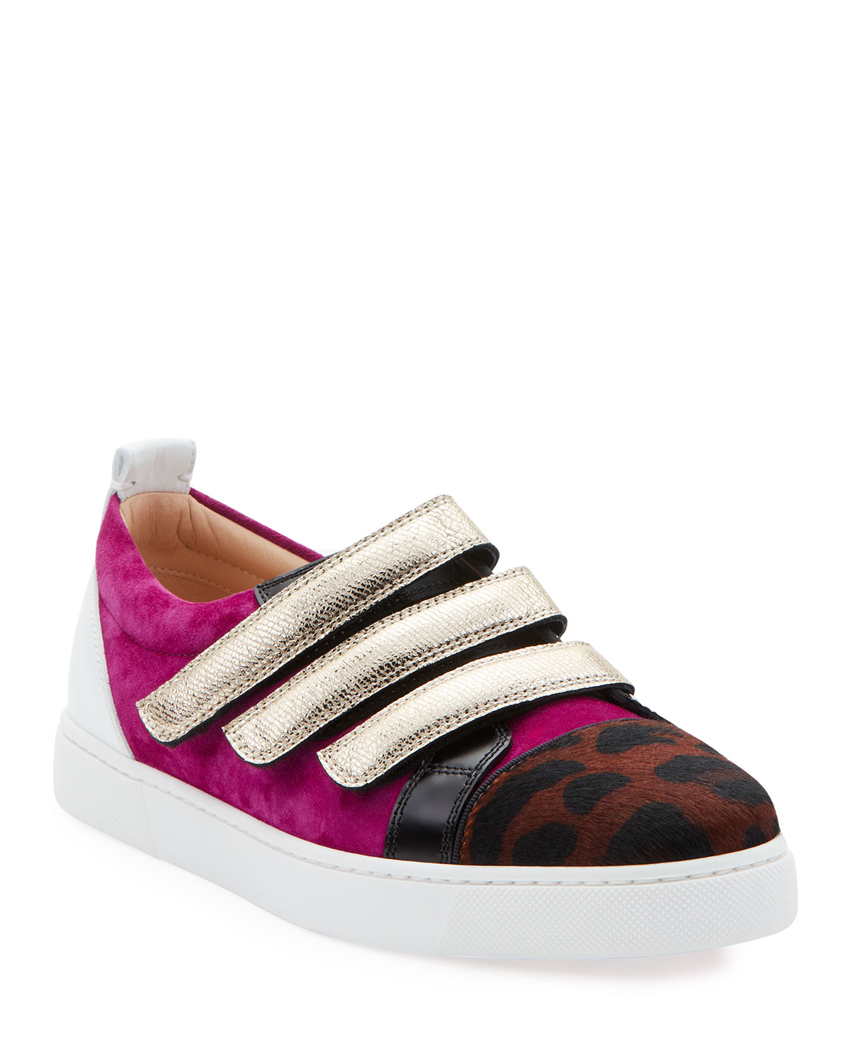 Kiddo Donna Red Sole Sneakers