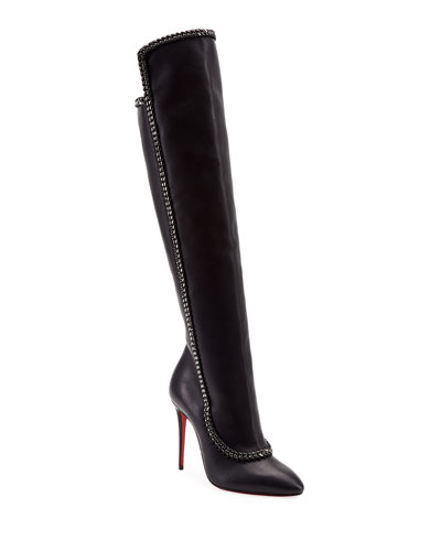 Clemence Botta Red Sole Boots