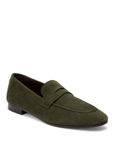 Soft Suede Flaneur Loafers