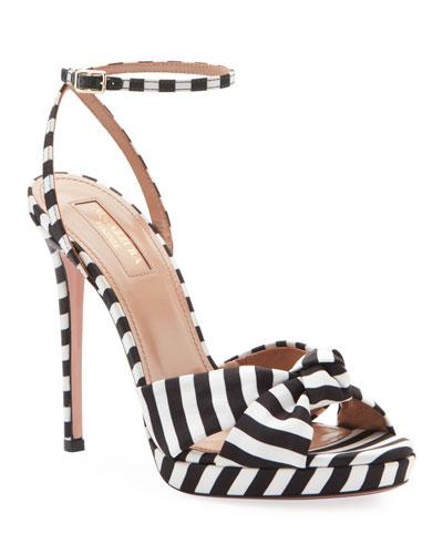 Chance Striped Platform Sandals
