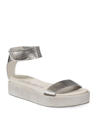 Genar Platform Ankle Sandals