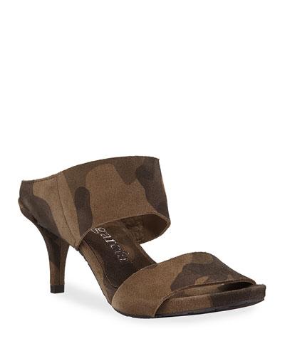 Winda Double Camo Sandals