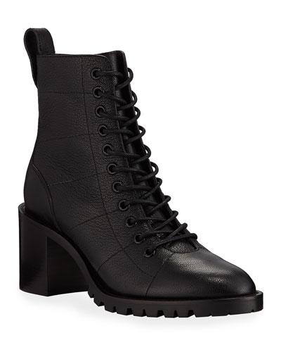 Cruz Lace-Up Booties
