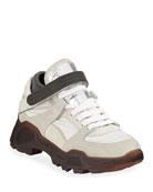 Brunello Cucinelli Trekk Chunky Monili Sneakers