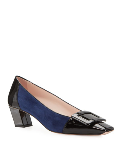 Belle Pilgrim Buckle Pumps