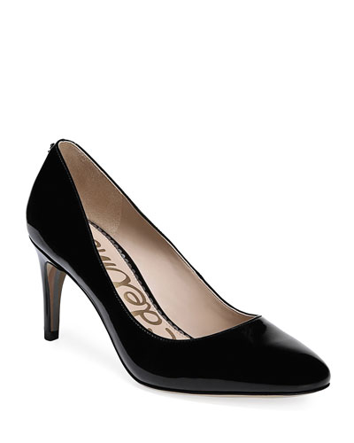 Elise Smooth Leather Pumps