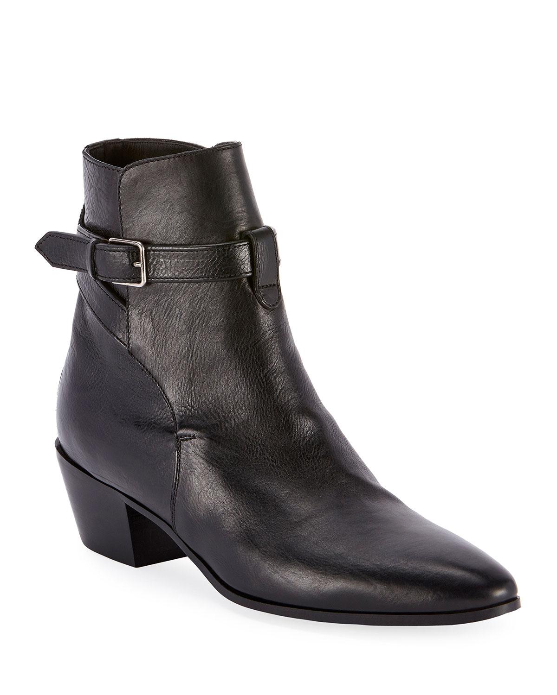 West Jodhpur Leather Booties