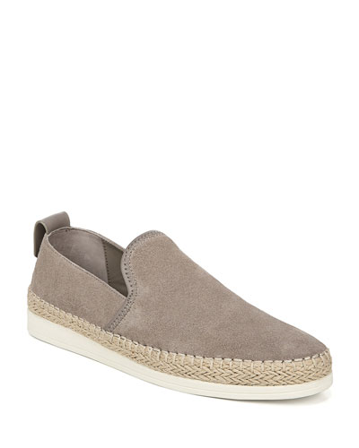 Silas Sport Suede Slip-On Sneakers