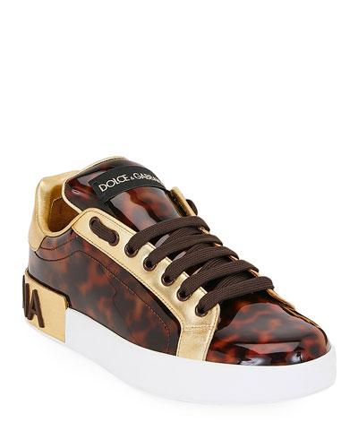 Portofino Patent Sneakers