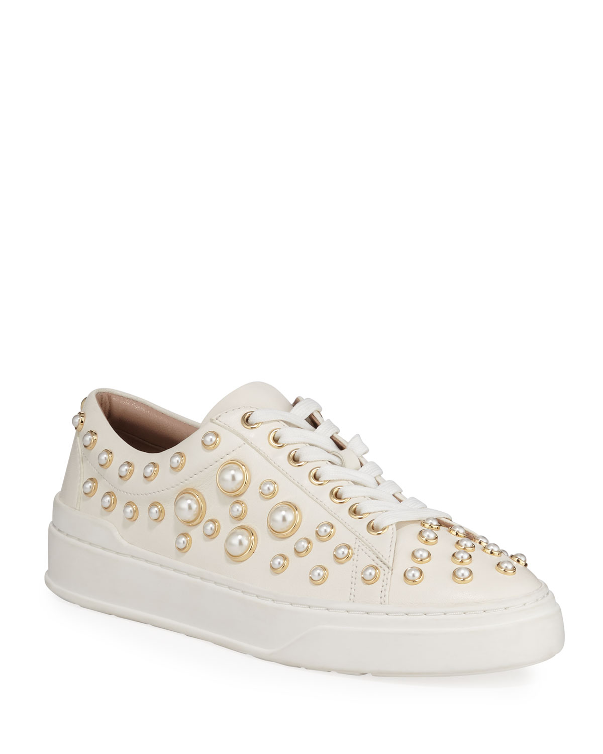 Pearline Platform Lace-Up Sneakers