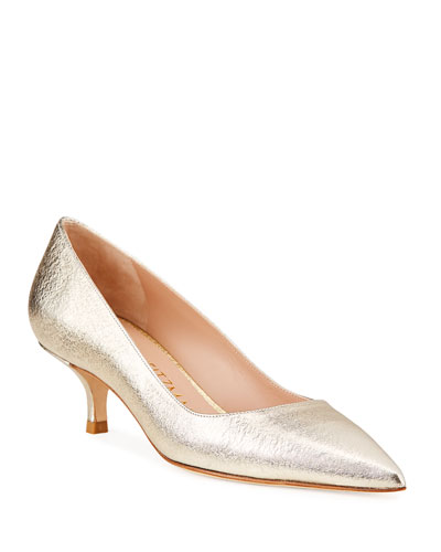 2acd8e4d8bf Stuart Weitzman Kitten Heel Shoes | Neiman Marcus