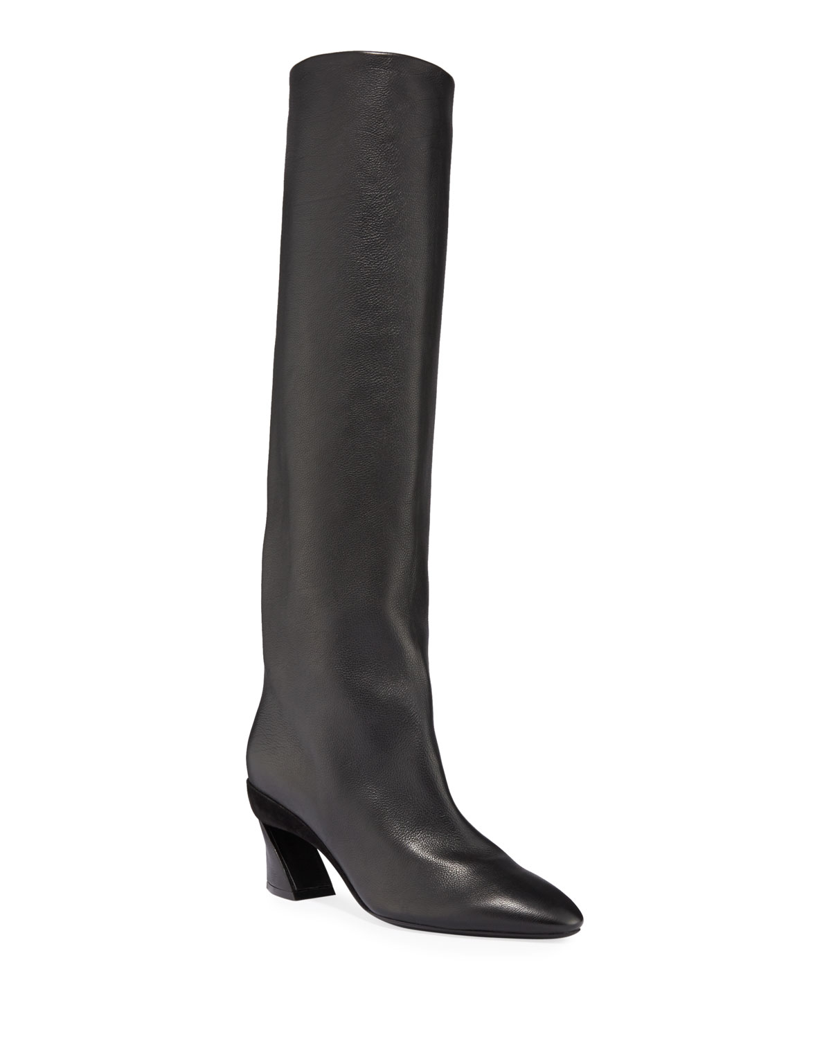 Antea Leather Knee Boots