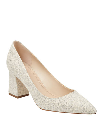 Boucle Pointed Pumps