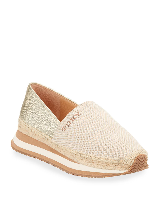 Daisy Metallic Slip-On Trainer Sneakers