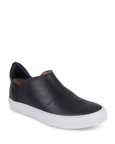 Zola Leather Slip-On Sneakers