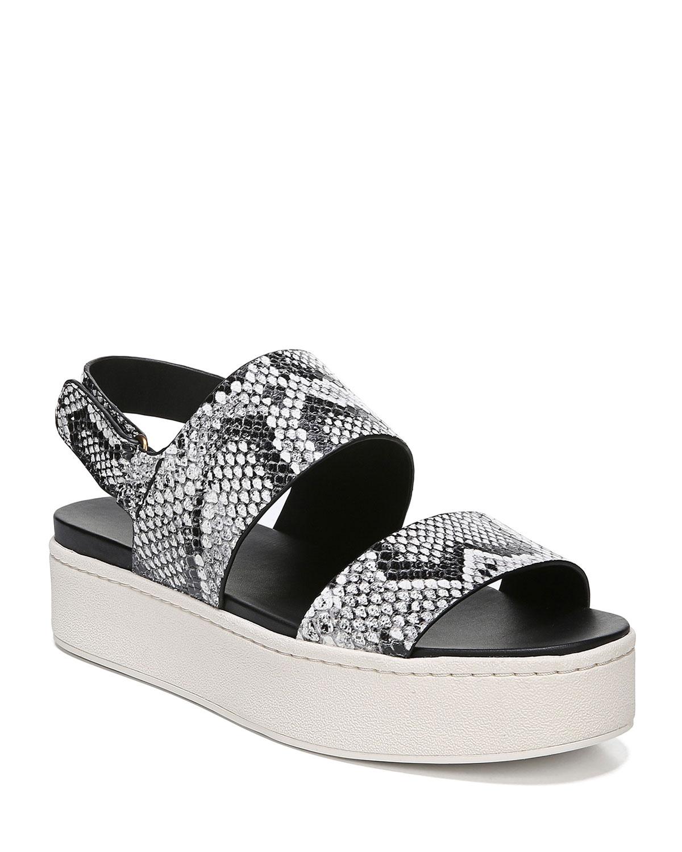 Westport Snake-Print Sandals