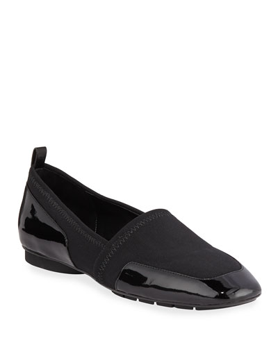 Deela Stretch Patent Loafers
