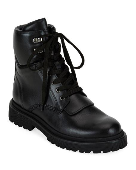 Donald J Pliner Camren Cap Toe Leather Hiker Boots Neiman Marcus
