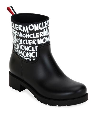 Ginette Stivali Logo Rain Boots