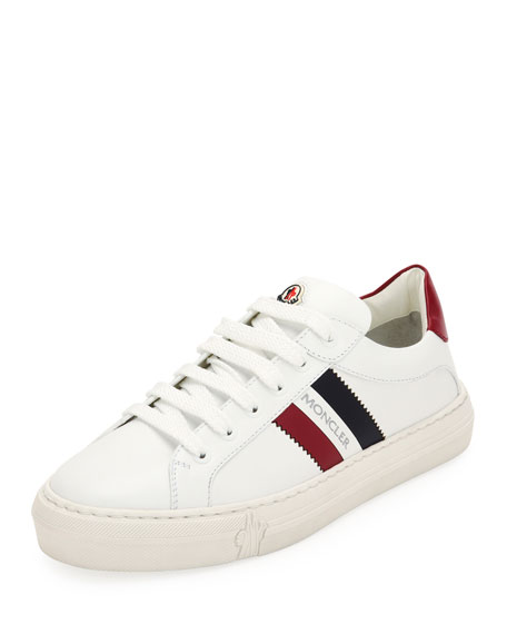 Moncler Ariel Scarpa Leather Sneakers