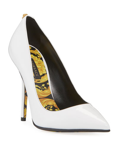 Decoll Barocco Patent Pumps