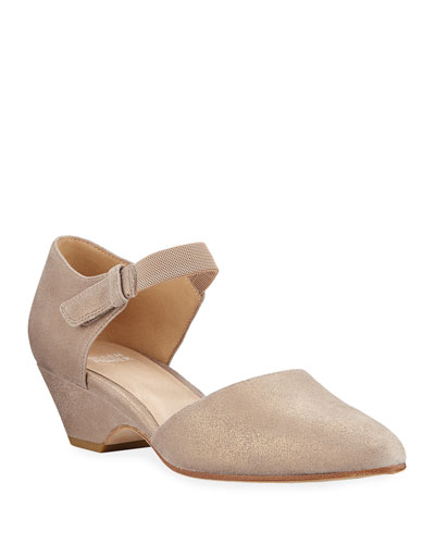 Gal Brushed Suede Pumps