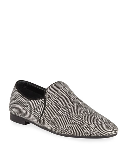 Revy Plaid Slip-On Loafers