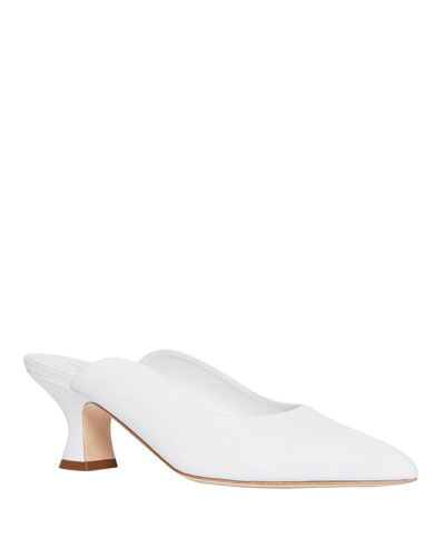 Holme 60mm Leather Mules