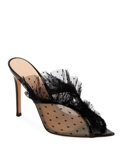 470711f8fa9 Pointed Toe Mesh Shoes | Neiman Marcus