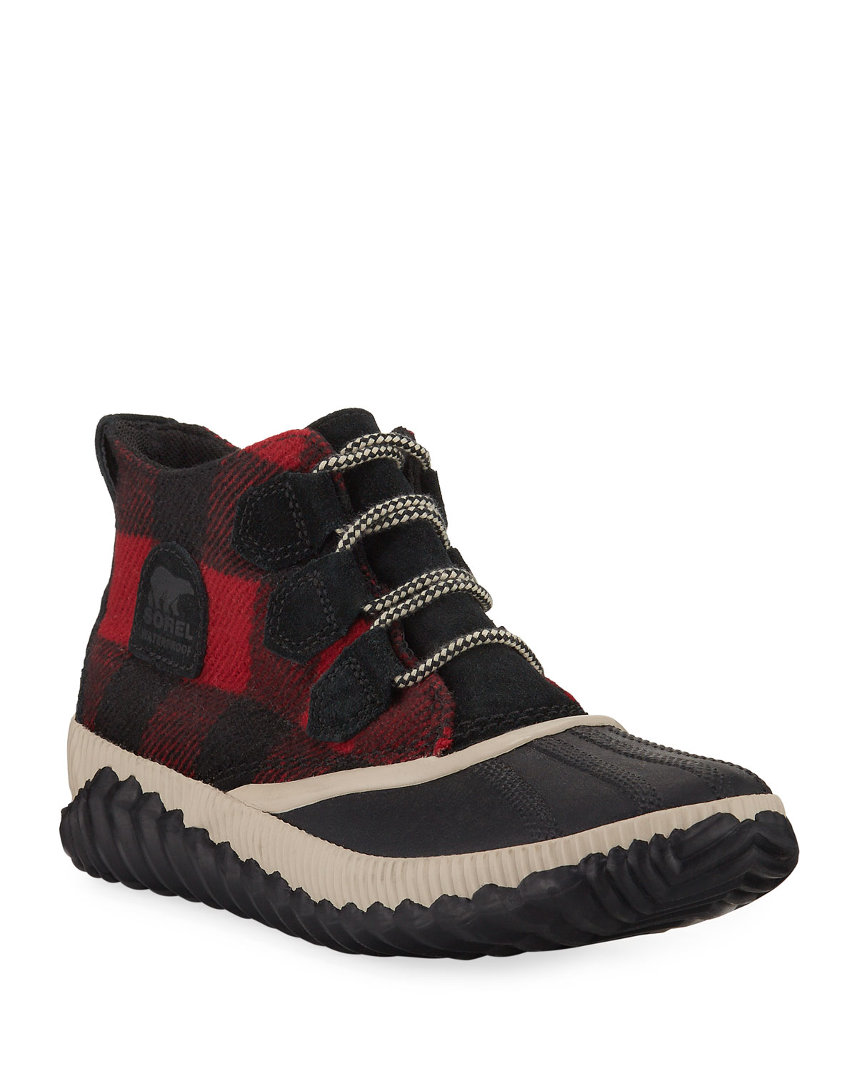 Sorel Boots OUT 'N ABOUT PLUS WATERPROOF TARTAN BOOTS