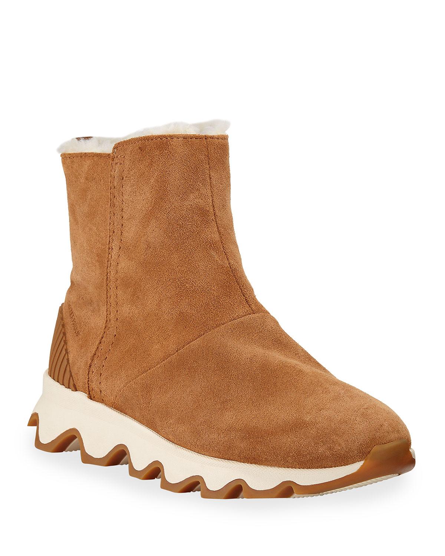 Kinetic Short Waterproof Suede Boots
