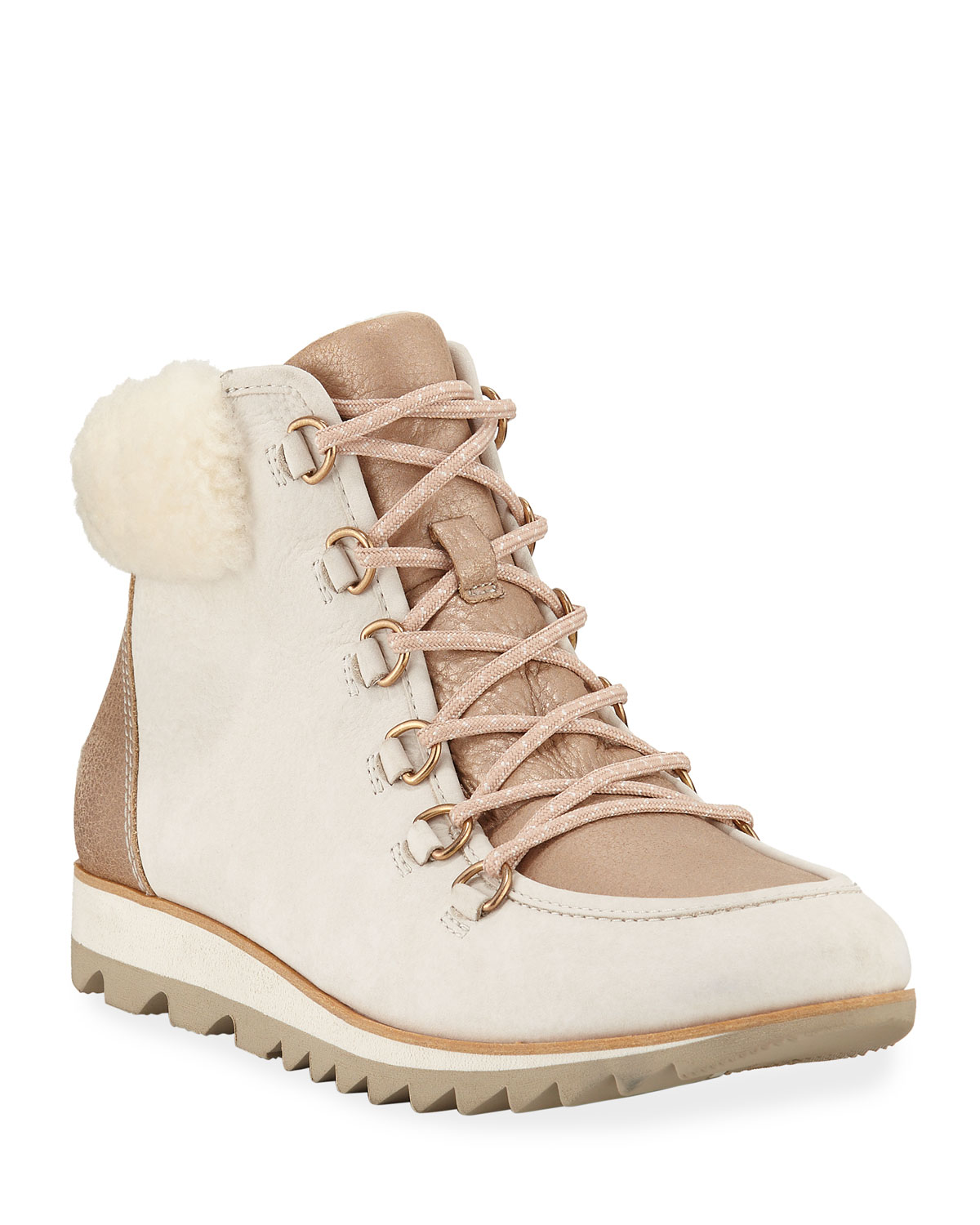 Harlow Lux Boots with Fur Trim