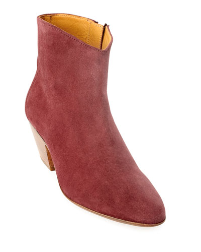 Dacken Suede Ankle Booties
