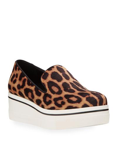 Binx Leopard Platform Sneakers