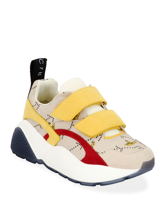 Eclypse Beatles Yellow Submarine Canvas Grip Sneakers