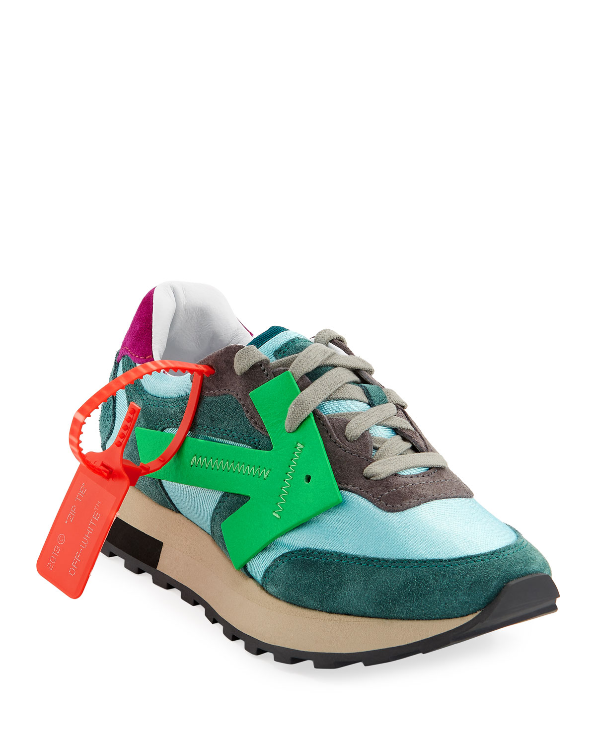 HG Runner Brilliant Colorblock Suede Arrow Sneakers
