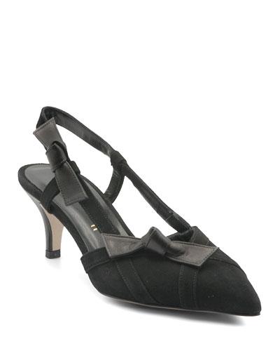 49605b2c4b Quick Look. Bettye Muller Concept · Bow Kitten-Heel Pumps