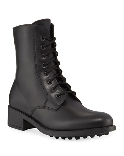 7c6a22f1 Lace Up Combat Boot | Neiman Marcus
