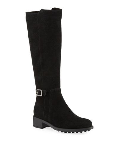 Silvana Waterproof Buckle Knee Boots
