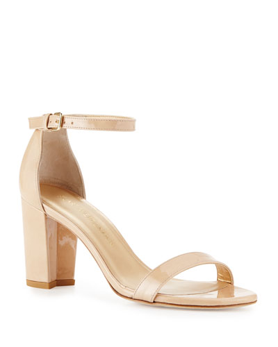 Nearlynude Patent City Sandals