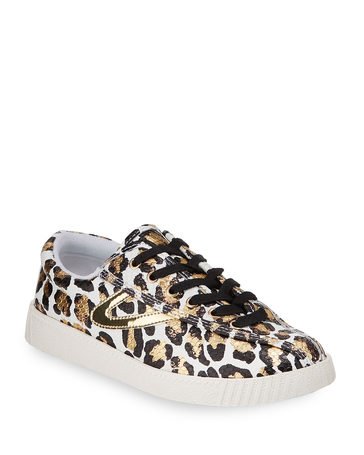 Tretorn Sneakers NYLITE 34 PLUS METALLIC ANIMAL-PRINT SNEAKERS